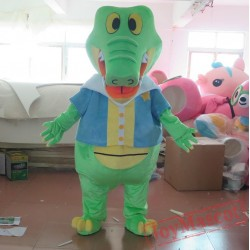 Adult Crocodile Mascot Tick Tock Costumes