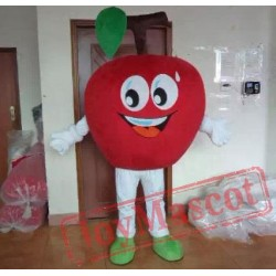 Adult Red Apple Mascot Costume Fruit Mascot Costumes