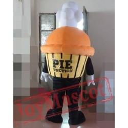 Yellow Cake Mascot Costume For Adults Cake Costume