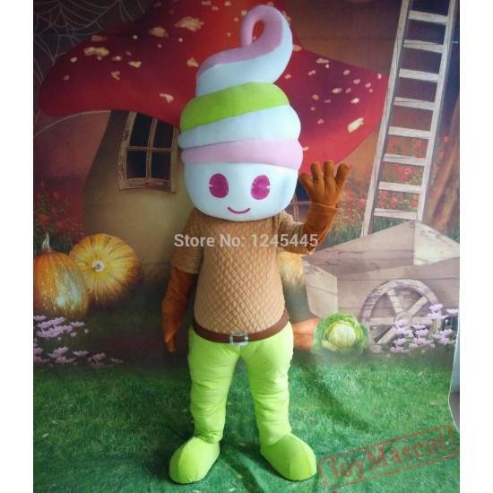 Ice Cream Mascot Costume For Adults Ice Cream Mascot