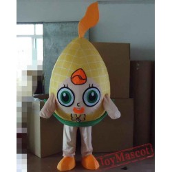 Big Head Corn Mascot Costume Adult Corn Mascot