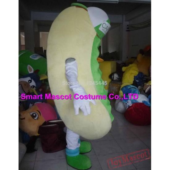 Hot Dog Mascot Costume For Adults Hot Dog Mascot
