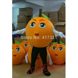 Orange Costume Adult Orange Mascot Costume