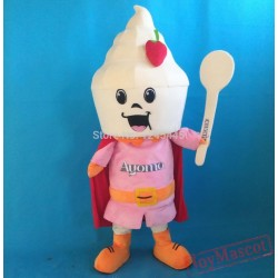 New Version Handmade Ice Cream Mascot Costume Adult Ice Cream Costume