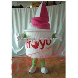 Adult Yogurt Cup Costume Yogurt Mascot Costume For Adult