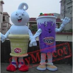 Ice Cream Mascot Costume/ Ice Cream Costumes