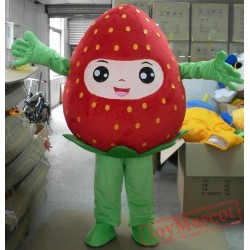 Red Strawberry Mascot Costume For Adults Strawberry Mascot