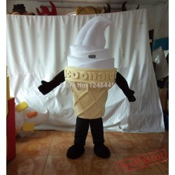 Adult Vivid Ice Cream Mascot Costume/Ice Cream Costumes For Promotion