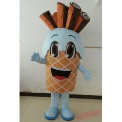 Yummy Ice Cream Mascot Costume Adult Ice Cream Costume