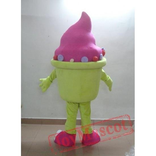 Ice Cream Man Mascot Costume Adult Ice Cream Costume