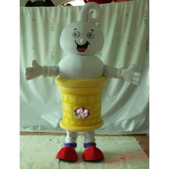 Adult Good Vision Ice Cream Mascot Costume Ice Cream Cone Costume