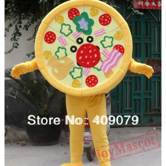 Adult Pizza Costume Pizza Mascot Costume For Adult