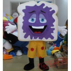 Funny Bread Mascot Costume Eva Adult Bread Costume