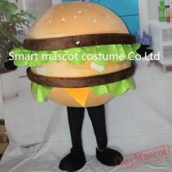 Yummy Bread Mascot Costume Hamburger Costume For Adults