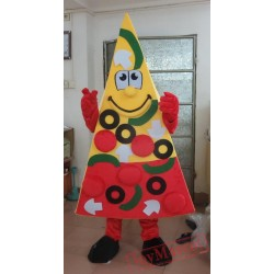 Yummy Pizza Mascot Costume Adult Pizza Costume
