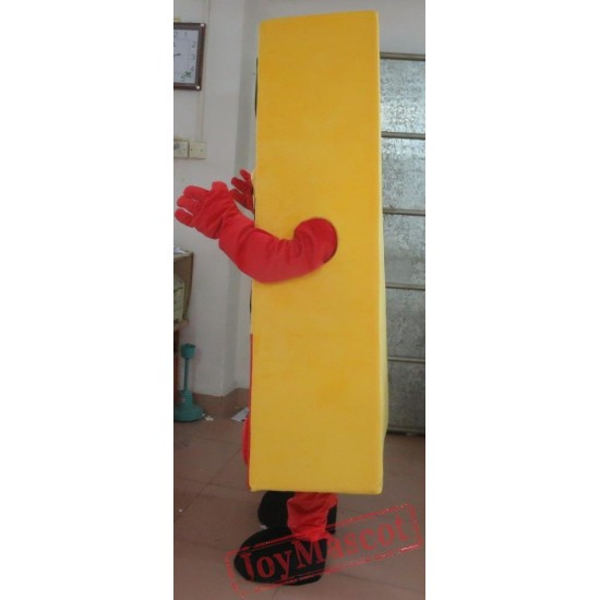 Yummy Pizza Mascot Costume Adult Pizza Costume