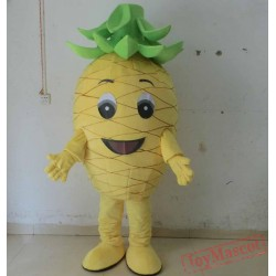 Fresh Pineapple Mascot Costume Adult Pineapple Costume