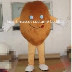 Big Bean Mascot Costume Unisex Bean Costume For Adults