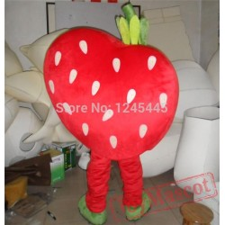 Lovely Strawberry Mascot Costume Adult Strawberry Costume