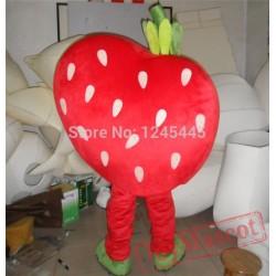 Lovely Strawberry Mascot Costume Adult Strawberry Costume