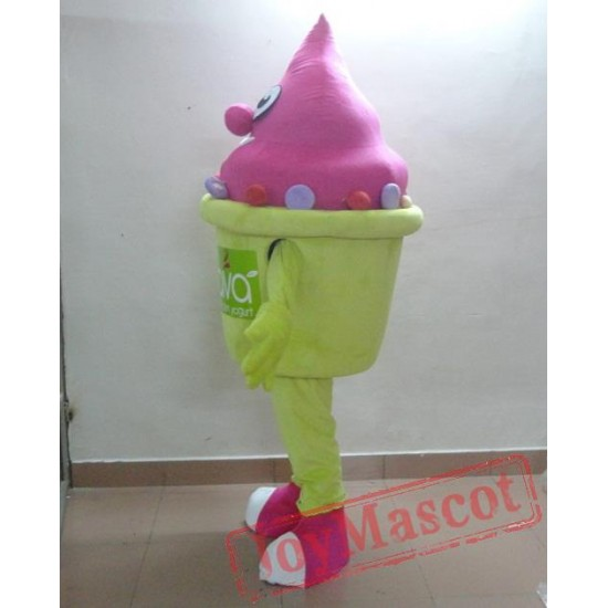 Frozen Yogurt Mascot Yogurt Costumes Yogurt Mascot Costume For Adults