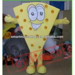 Cheese Mascot Costume Adult Cheese Costume