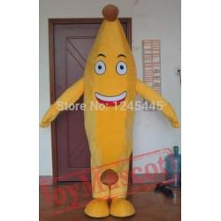 Carnival Banana Mascot Costume Adult Banana Costumes