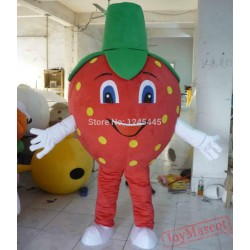 Adult Strawberry Mascot Costume Fruit Carnival Strawberry Costume
