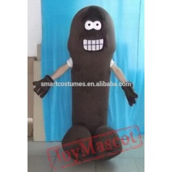 Brown Penis Costume Adult Penis Mascot Costume