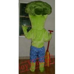 Adult Broccoli Mascot Costume