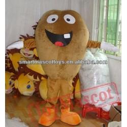Adult Coffee Beans Mascot Costume