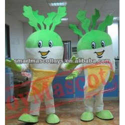 Adult Radish Mascot Costume