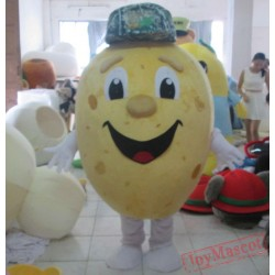 New Version Handmade Potato Mascot Costume With Cooing Fan