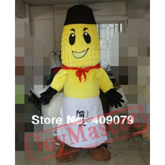 Adult Corn Mascot Costume