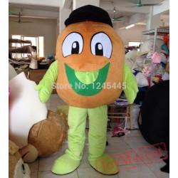 Adult Kiwi Fruit Mascot Costume Adult Kiwi Fruit Costume