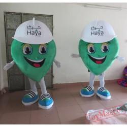 Adult Green Leaf Costumes Leaves Mascot Costumes
