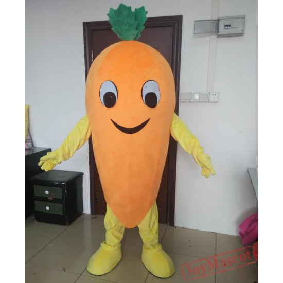 Good Vision Carrot Mascot Costume Adult Carrot Costume