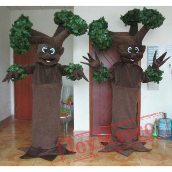 The Old Tree Mascot Costume Adult Tree Costume