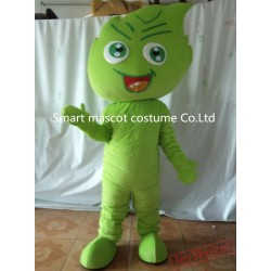 Green Mascot Costume Leaf Mascot Costume For Adults
