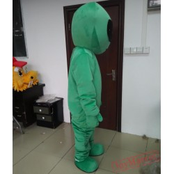 Adult Alien Mascot Costume