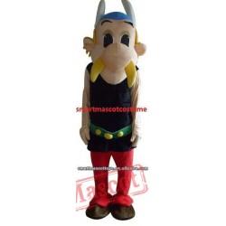 Asterix Obelix Mascot Costume Adult Asterix Mascot Costume