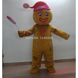 Adult Cookie Mascot Costume