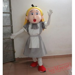 Cinderella Princess Mascot Costume For Adults