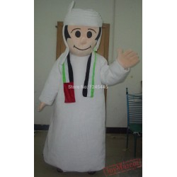 Adult Cartoon Arab Mascot Costume