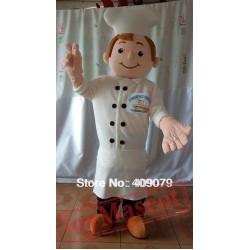 Adult Cook Mascot Costume