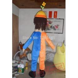 Clown Mascot Costume For Adults