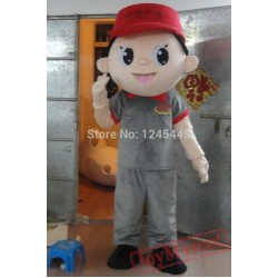 Adult Courier Mascot Costume