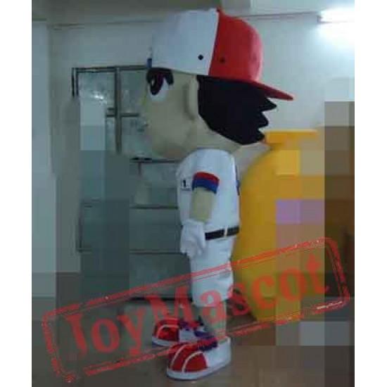 Boy Of Tennis Mascot Costume For Adults Boy Mascot