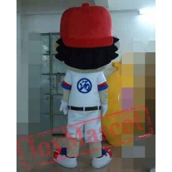 Boy Of Tennis Mascot Costume For Adults Boy Mascot