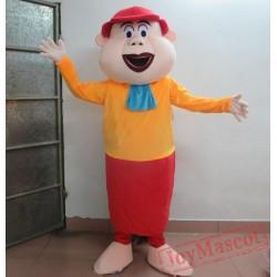 Adult Funny Clown Mascot Costume Plush Clown Costume